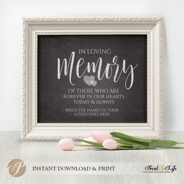 Wedding Sign Bundle, Wedding Reception Signs, Printable Chalkboard Template 3