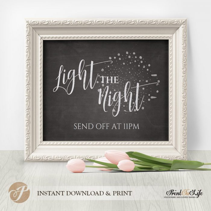 Wedding Sign Bundle, Wedding Reception Signs, Printable Chalkboard Template 4