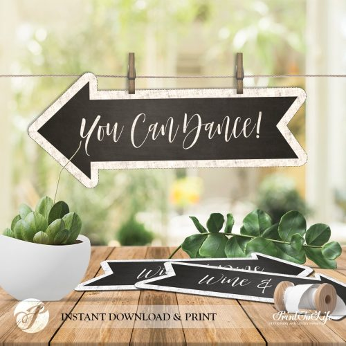 Wedding Direction Bundle by Printolife