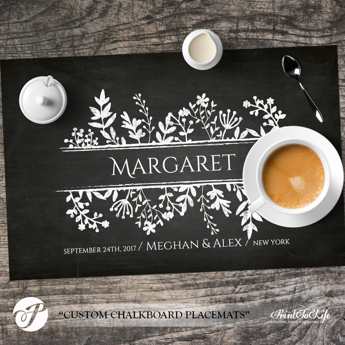 Paper Placemats Template
