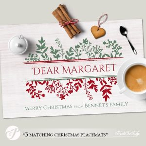 Christmas Paper Placemats