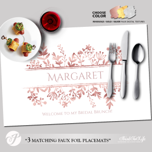 Printable Placemat Template