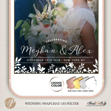 WEDDING GEOFILTERS