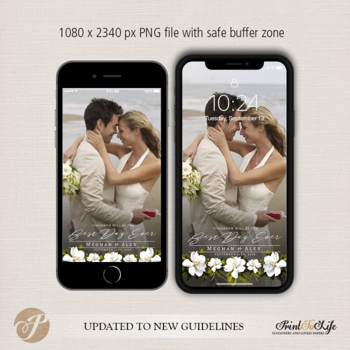 Wedding Geofilter, Custom Geofilter, Snapchat Geofilter, #Magnolia Collection 3