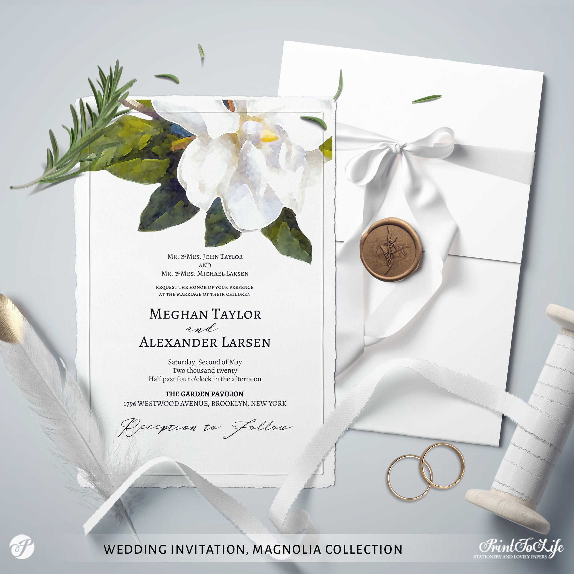Magnolia Collection Wedding Suite