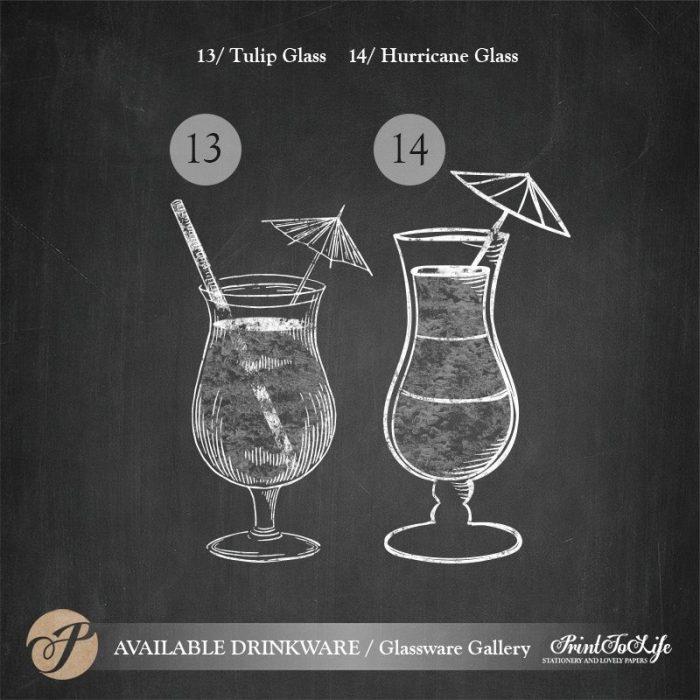 Signature Drinks Sign, Illustrated Wedding Bar Sign, Printable Bar Menu, Chalkboard Template. 7