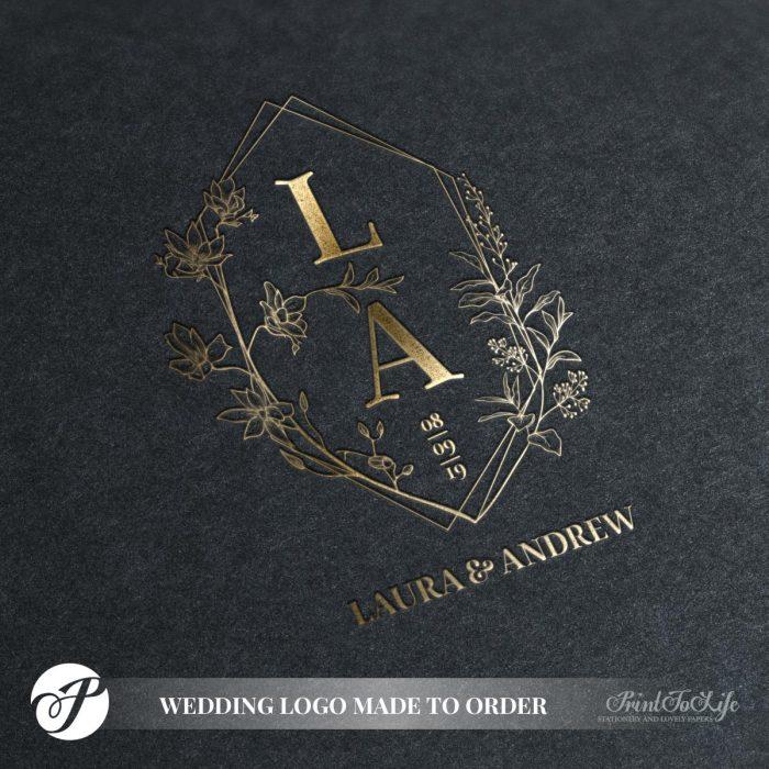 wedding logo by Printolife