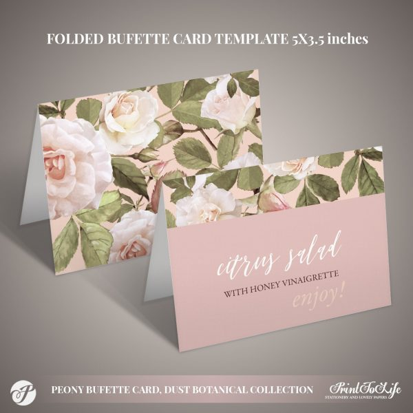 BUFFET CARDS
