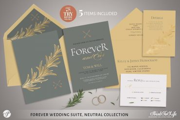 Forever Wedding Suite by Printolife