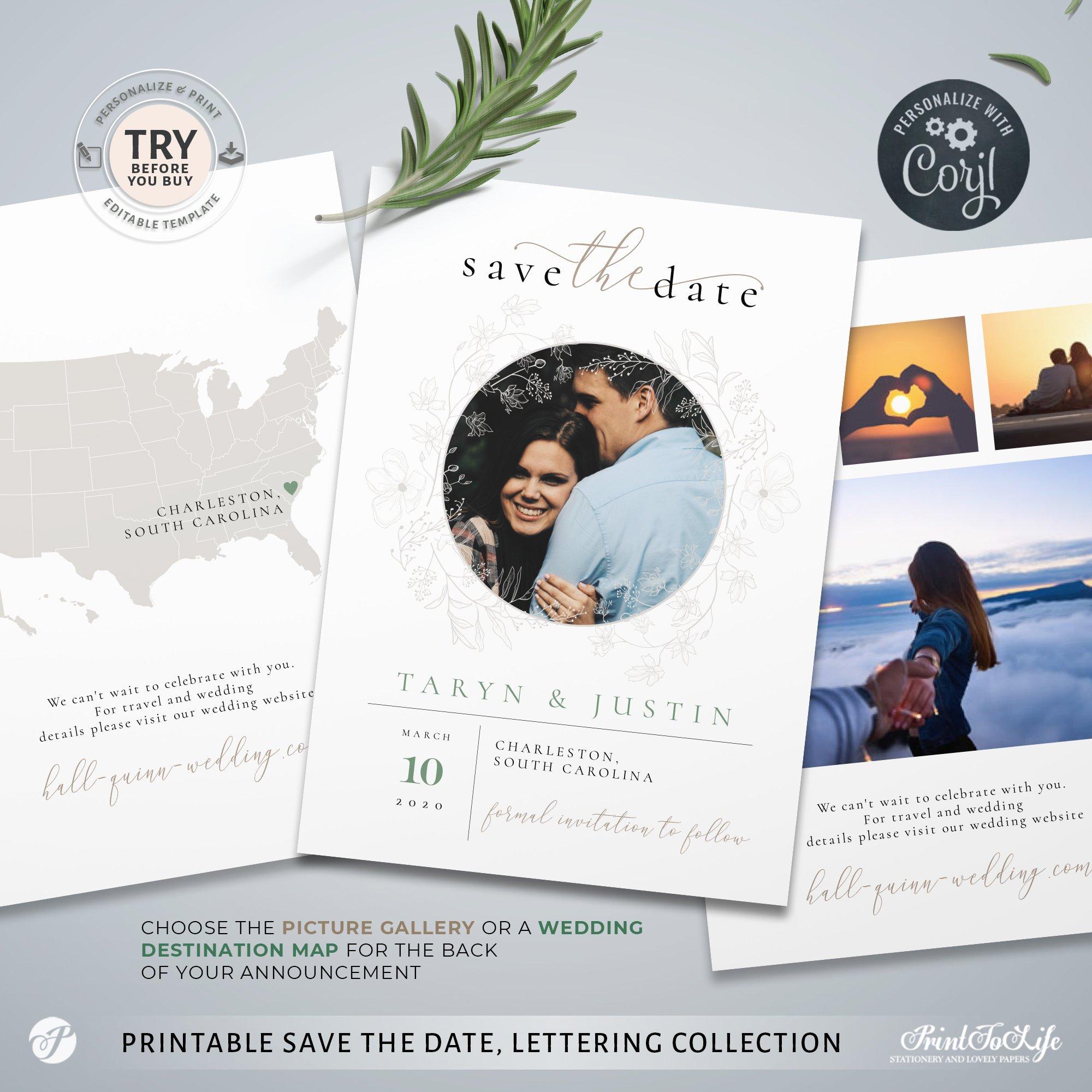 Save the Date Wedding Destination