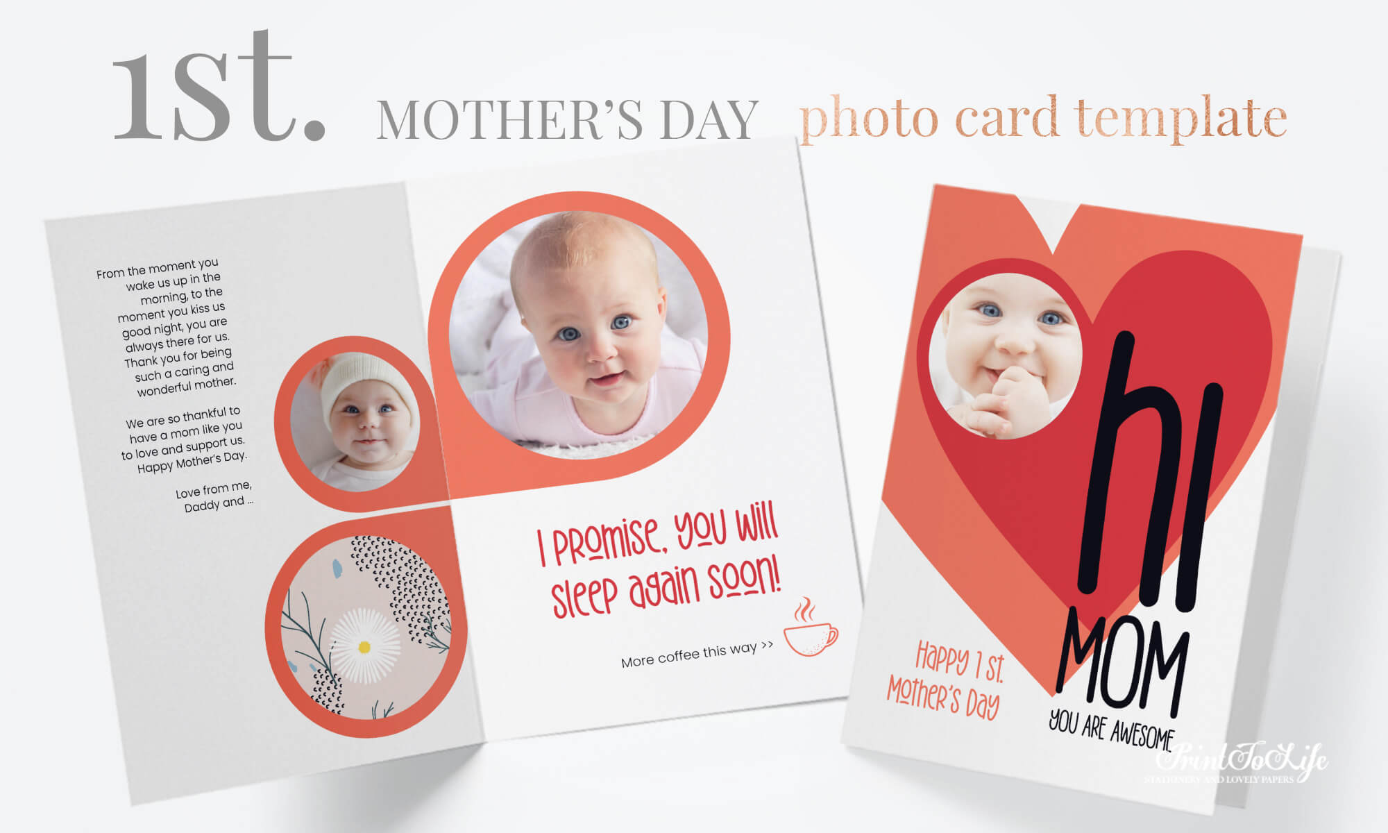 Personalized Mother's Day Cards 2