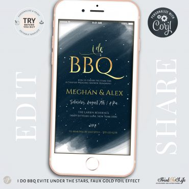Backyard BBQ Invitation Template