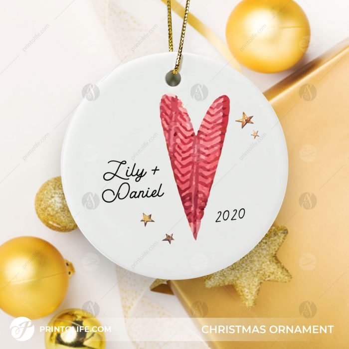Couples Christmas Ornaments