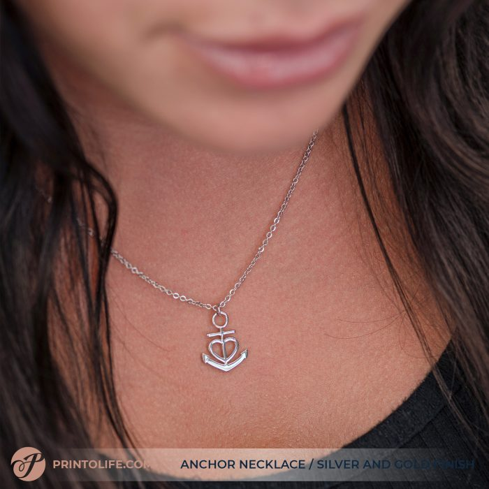 Thank you gift for her | Anchor Necklace | Best friend, Soulmate, Sister, Mom, Grandma, Aunt 6