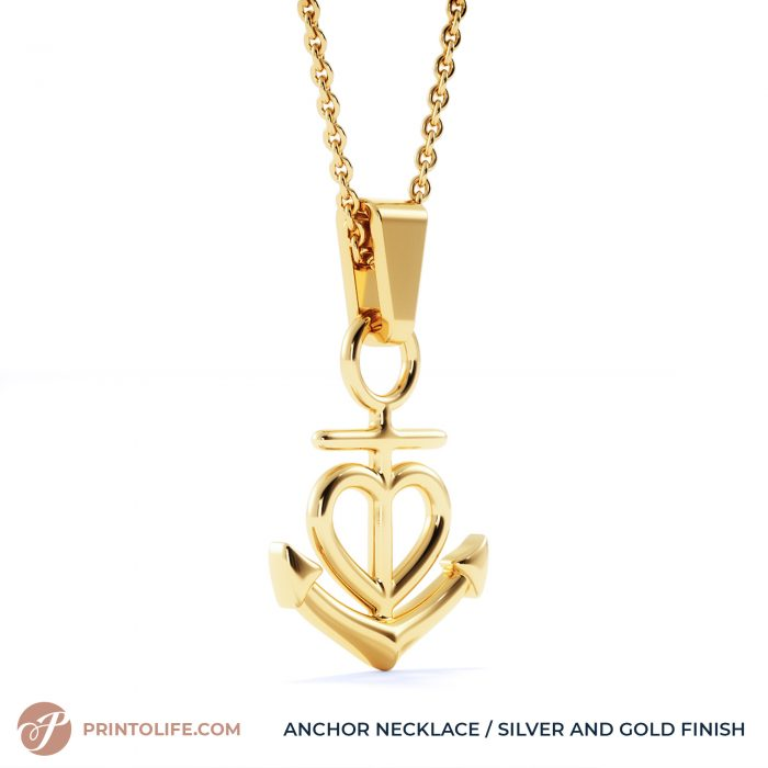 Thank you gift for her   Anchor Necklace   Best friend, Soulmate, Sister, Mom, Grandma, Aunt 4